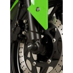 Protection de fourche R&G RACING noir Kawasaki ZX250R Ninja