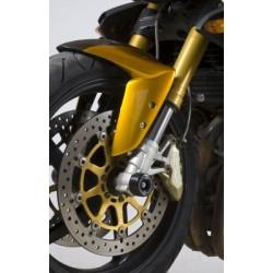 Protection de fourche R&G RACING noir Benelli TNT 1130 Cafe Racer