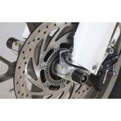 Protection de fourche R&G RACING noir Husqvarna TR650 Strada
