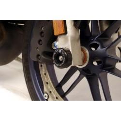 Protection de fourche R&G RACING noir Buell 1125R