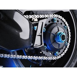 Carter de couronne LIGHTECH carbone brillant Ducati Panigale
