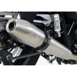 Protection de silencieux R&G RACING noir Triumph Street Twin