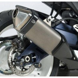 Protection de silencieux R&G RACING noir Suzuki GSX-R600