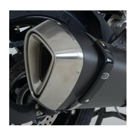 Protection de silencieux extra large R&G RACING noir BMW R1200RT