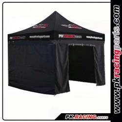 Tente paddock PK RACING + 4 COTES