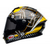 Casque BELL Star DLX Mips Isle of Man 2020 Gloss Black/Yellow taille S