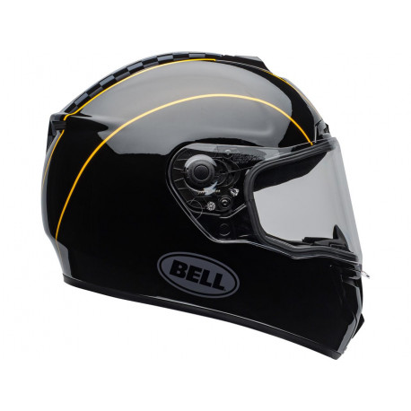 Casque BELL SRT Buster Gloss Black/Yellow/Grey taille S