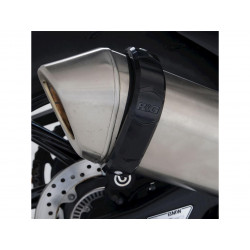 Protection de silencieux R&G RACING noir BMW S1000RR