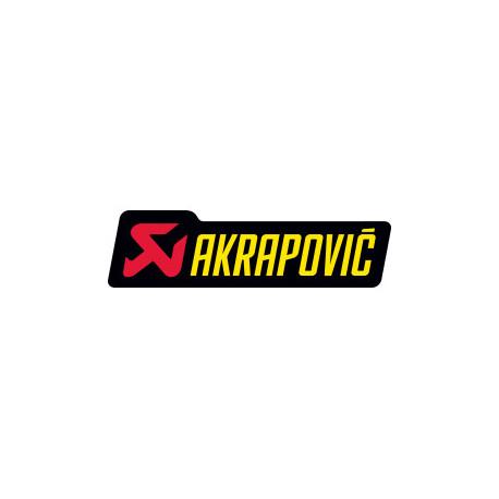 Autocollant Akrapovic 200x60 mm