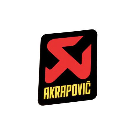 Autocollant Akrapovic vertical 75 mm