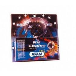 kit chaine AFAM 525 couronne acier