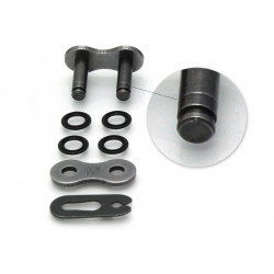 Attache semi-pressée D.I.D 520 VX3 noir/noir