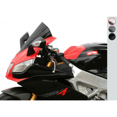 "Bulle MRA Racing ""R"" clair Aprilia RSV4/R/Factory"