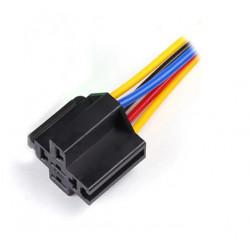 Connecteur pré - câblé pour relai