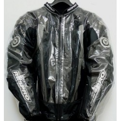 combinaison de pluie RACING transparent