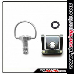 Kit fixation rapide a clips 14mm ERF