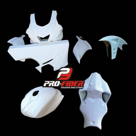 Poly complet YAMAHA R6 2017