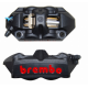 Etriers Brembo Radiaux monobloc forgés M4/108 noir