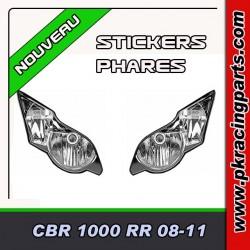 FAUX PHARES AUTOCOLLANTS CBR 1000 RR 08-11