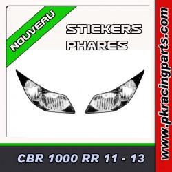 FAUX PHARES AUTOCOLLANTS CBR 1000 RR 11-13