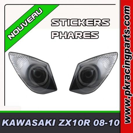FAUX PHARES AUTOCOLLANTS ZX10 R 08-10