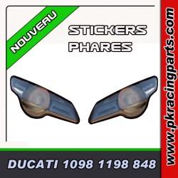 FAUX PHARES AUTOCOLLANTS DUCATI 848-1098-1198