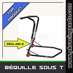 BEQUILLE SOUS T DE FOURCHE REGLABLE
