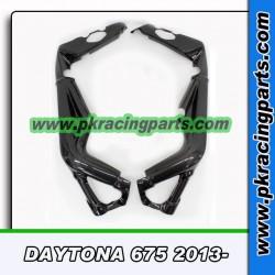 Protections de cadre DAYTONA 675 2013-