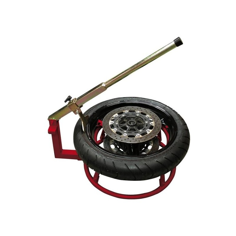 Machine a pneu moto