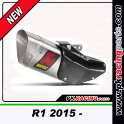 SILENCIEUX TITANE R1 2015