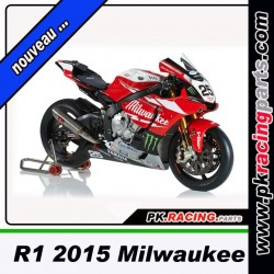 CARRENAGE PEINT R1 2015 MILWAUKEE REPLICA