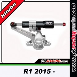 Kit amortisseur de direction Bitubo noir Yamaha R1