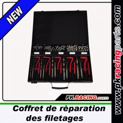 Coffret rèparation de filetages