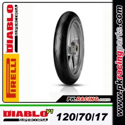 Diablo super corsa  V1 120/70/17-SC1/SC2