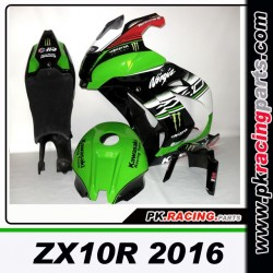 CARRENAGE PEINT ZX10R 2016