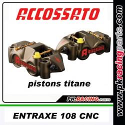 ETRIER ACCOSSATO ENTRAXE 108 CNC