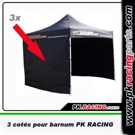 3 cotés pour barnum PK RACING