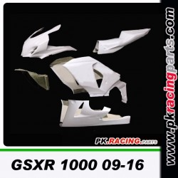 POLY HAUT DE GAMME GSXR 1000 09-16