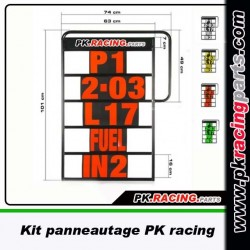 KIT PANNEAUTAGE PK RACING