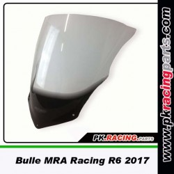 Bulle MRA RACING YAMAHA R6 2017