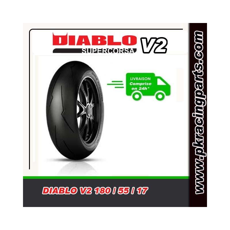 pneu arri re pirelli diablo supercorsa v2 en 180 55 17. Black Bedroom Furniture Sets. Home Design Ideas