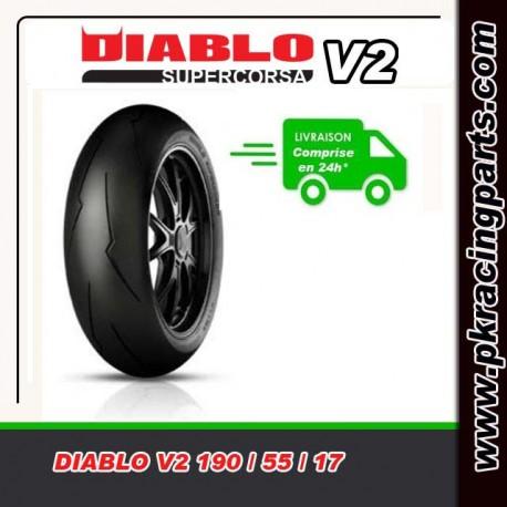 PIRELLI DIABLO SUPERCORSA V2 190/55/17 SC2
