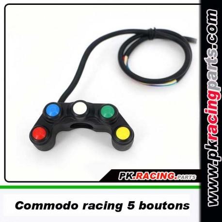 Commodo Racing 5 boutons