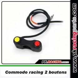 Commodo Racing 2 boutons