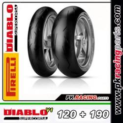 PIRELLI DIABLOV1 120 SC1+190SC2