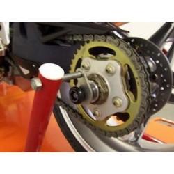 Tampons de protection / support de béquille arrière R&G RACING MV Agusta F3