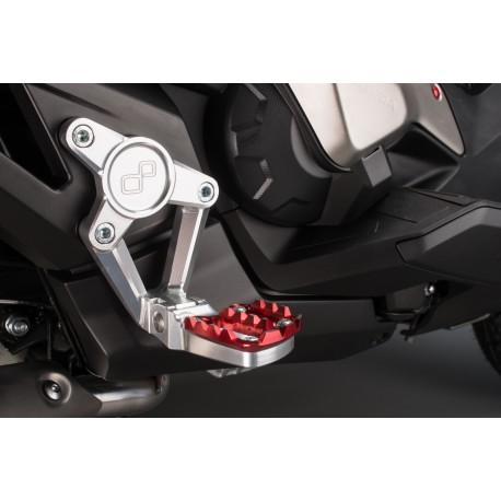 Commandes reculées LIGHTECH noir Honda X-ADV