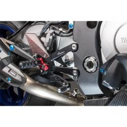 Commande reculées réglables LIGHTECH sélection standard et inversée Yamaha Yzf-R1