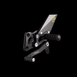 Commande reculées fixes LIGHTECH sélection standard Kawasaki Ninja 250R