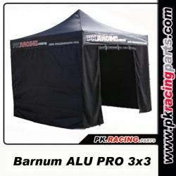 Tente paddock ALU PK RACING + 4 COTES